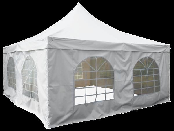 H-Line Pavillon 5 x 5 m Weiß