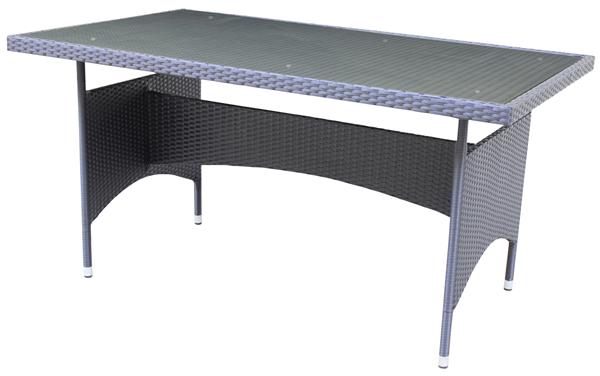 Tarrington House Tisch Noelani 90 x 150 cm Schwarz