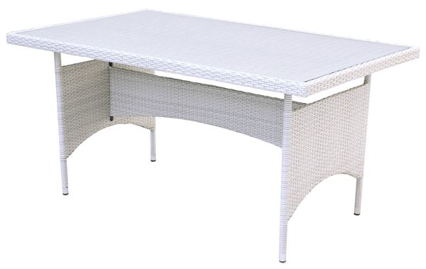Tarrington House Tisch Noelani 90 x 150 cm Off-White