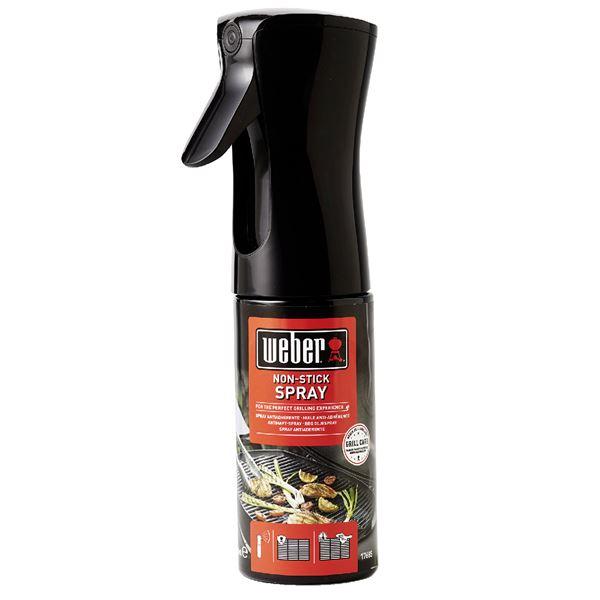 Weber® Non-Stick Spray Rot, Schwarz