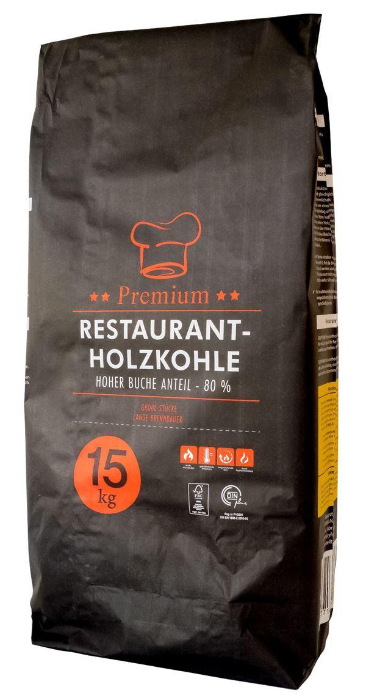 Gryfskand Restaurant Holzkohle 15 kg