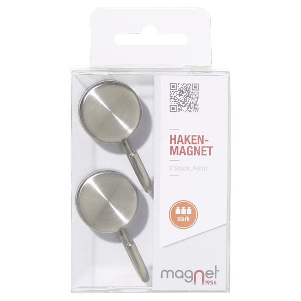 Magnet1956 Haken-Magnet - 2 Stück