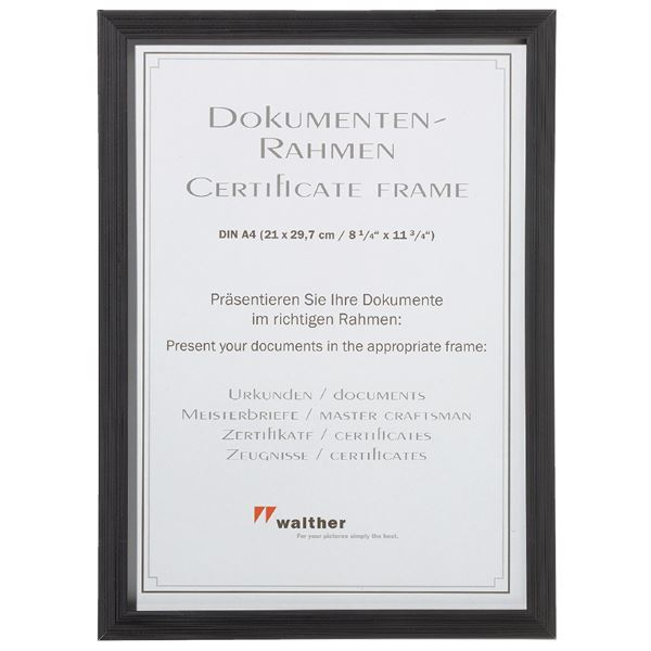 Walther Construction Dokumentenrahmen