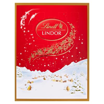 Lindor Weihnachtskalender.Lindt Lindor Adventskalender 290 G Metro