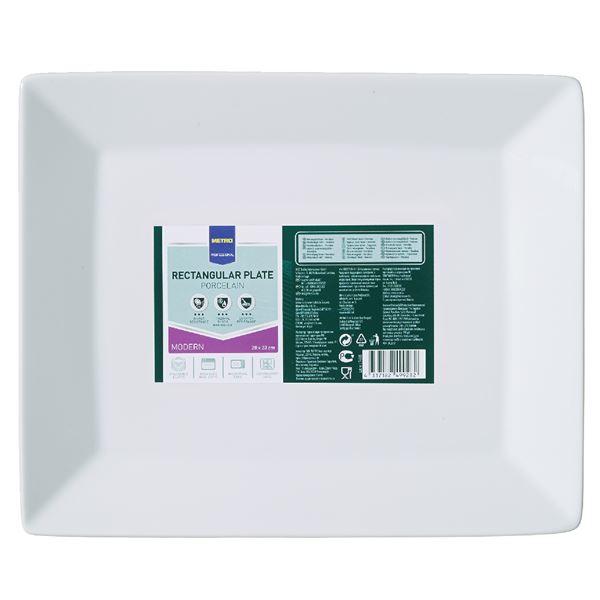 METRO Professional Platte rechteckig Modern 23  x  28 cm