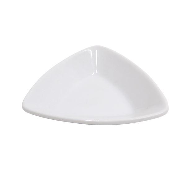 METRO Professional Tapas Schalen Triangel Porzellan Ø 10,5 cm - 6 Stück
