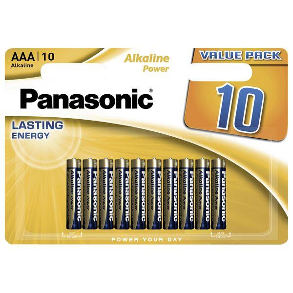 Panasonic Mikro Alkaline LR03APB/10BW