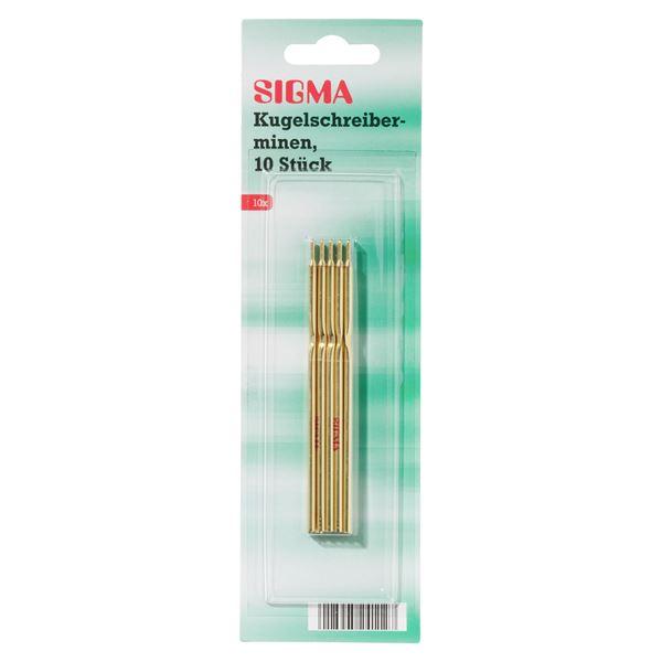 Sigma Kugelschreiberminen - 10 Stück