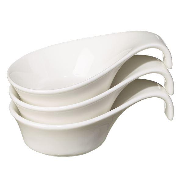 METRO Professional Fingerfood Cup Porzellan Ø 12 cm - 3 Stück