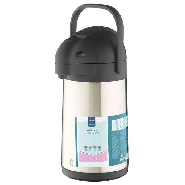 METRO Professional Getränkespender Edelstahl 1,9 l