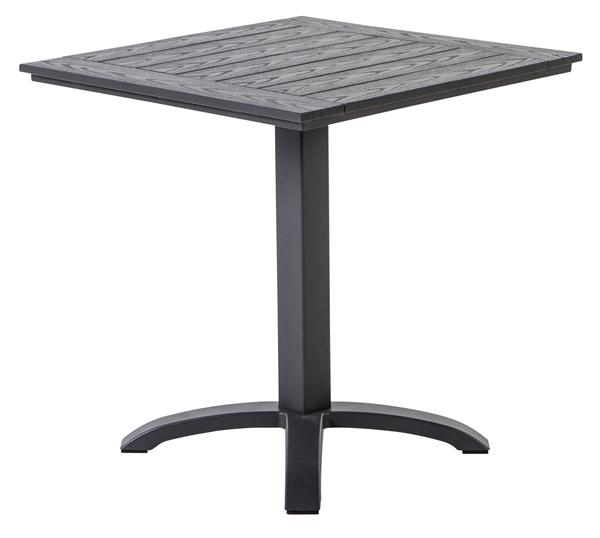 METRO Professional Tisch Mulaso 70 x 70 cm Dunkelgrau