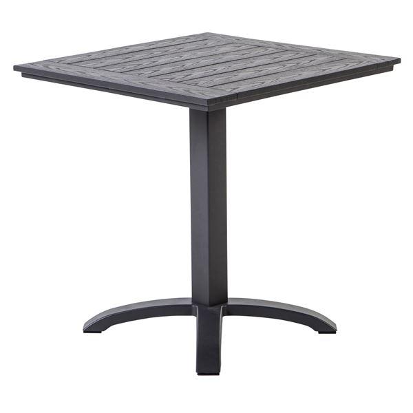 METRO Professional Tisch Mulaso Dunkelgrau