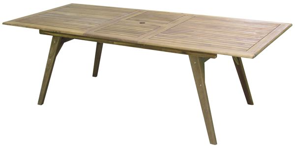 Tarrington House Tisch Karaganda 180/230 x 100 cm Akazienholz