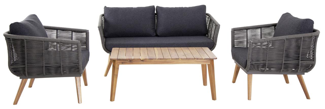 tarrington house sofa set alasira grau loungem bel outdoor m bel metro. Black Bedroom Furniture Sets. Home Design Ideas