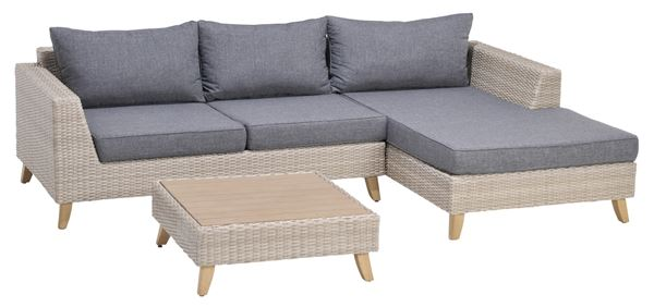 Tarrington House Couch Set Masbate Grau