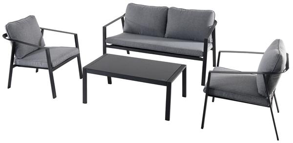 Tarrington House Lounge Set Grau
