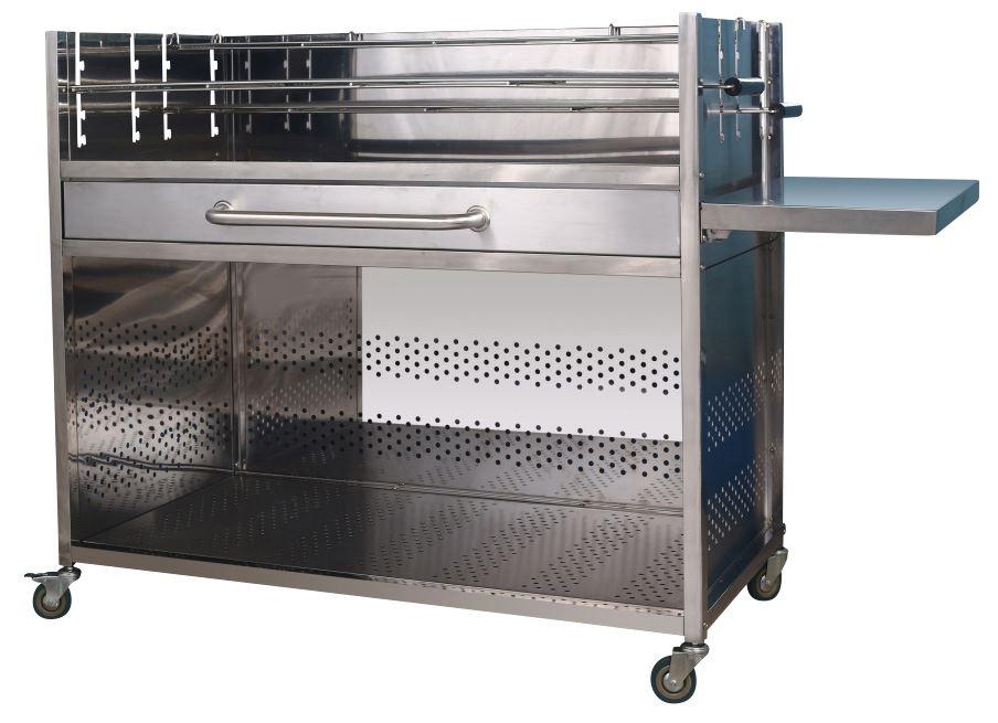 Mini Kühlschrank Metro : Metro professional holzkohle grillwagen holzkohlegrills grillen