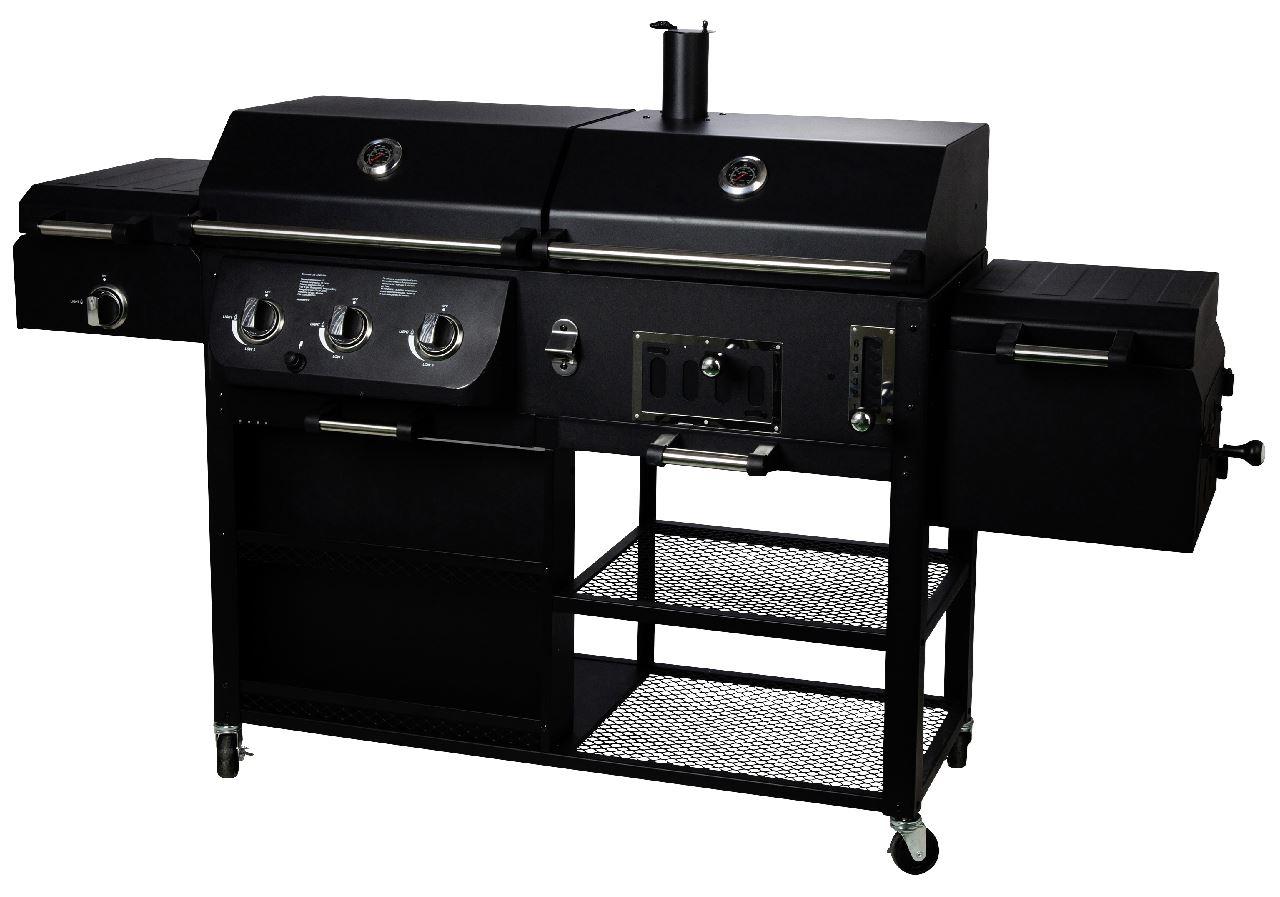 Gas Holzkohlegrill Kombi Obi : Gas kohle grill smartstore