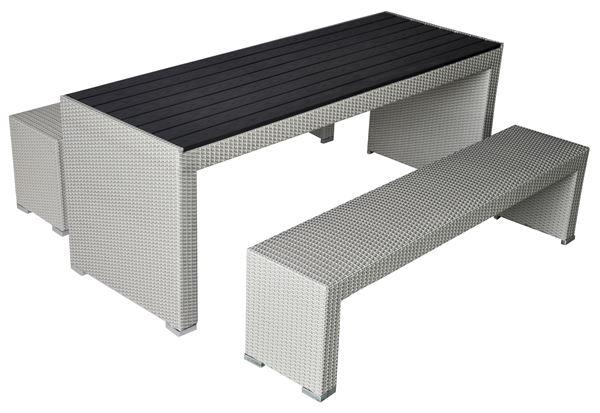 METRO Professional Sitzgruppe 3-teilig Off-White