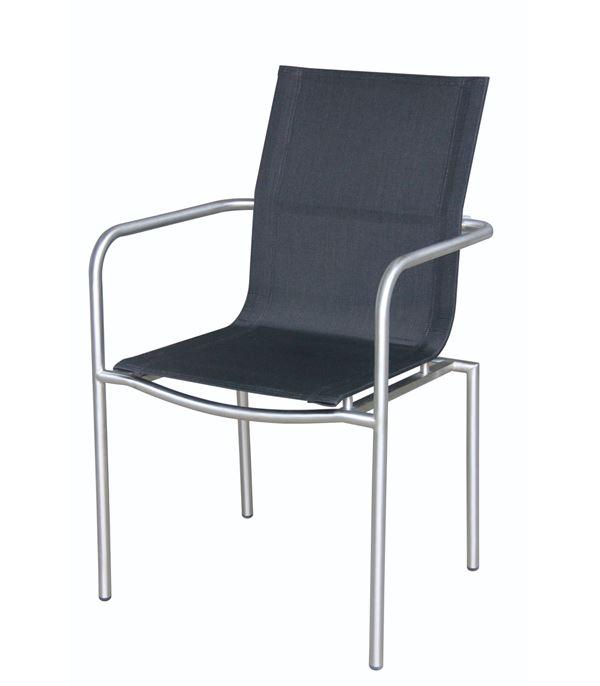 METRO Professional Stuhl Milano Schwarz