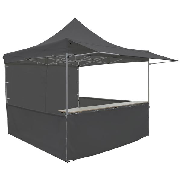 METRO Professional Pavillon mit Tisch 3 x 3 m