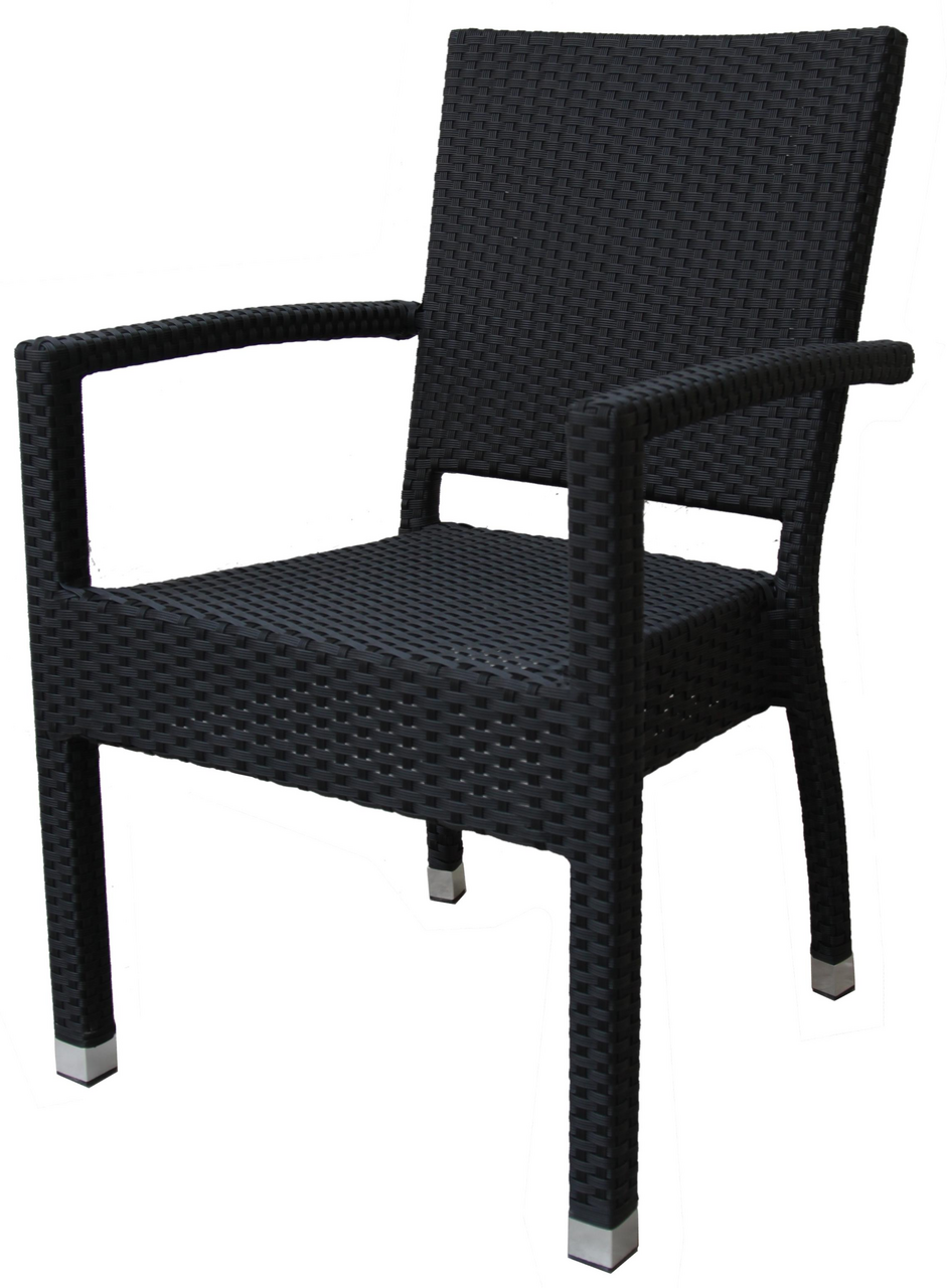 metro professional sessel barbados schwarz st hle outdoor m bel metro. Black Bedroom Furniture Sets. Home Design Ideas