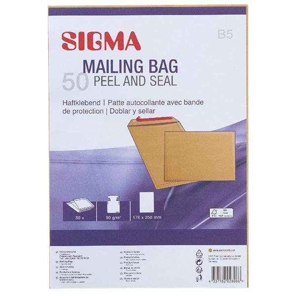 Sigma Versandtasche DIN B5 - 50 Stück