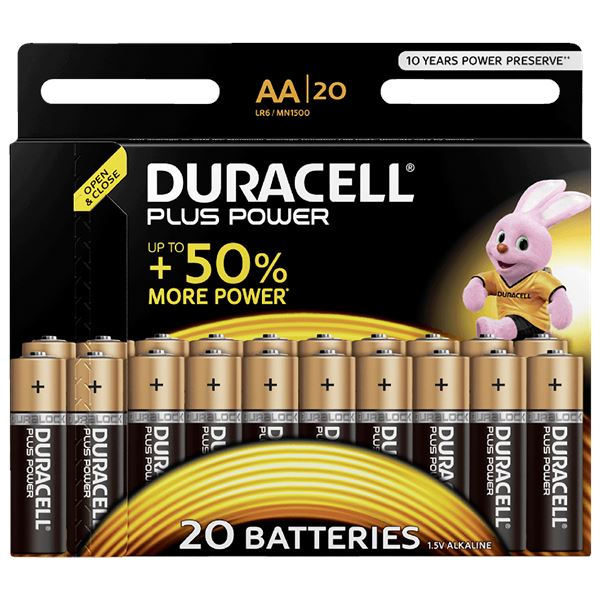 Duracell Plus Power Mignon AA