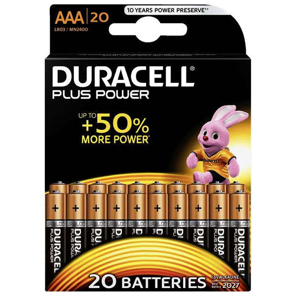 Duracell Plus Power Micro AAA