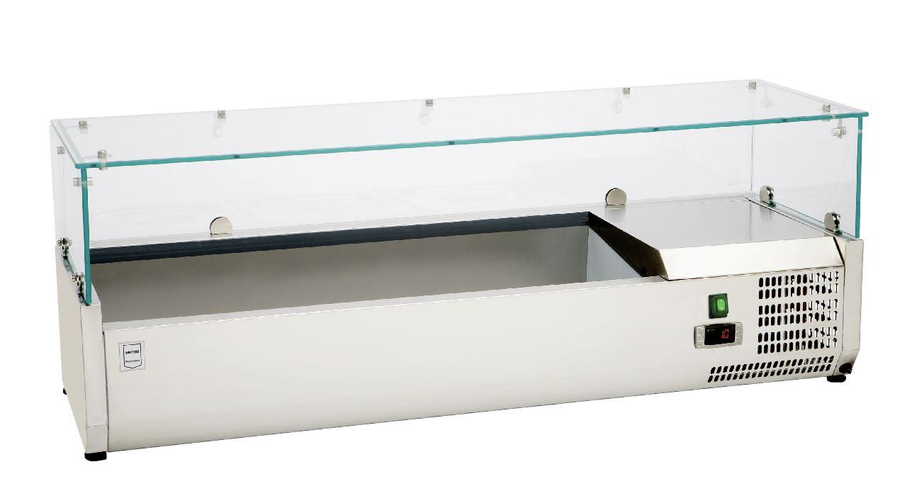 Mini Kühlschrank Metro : Metro professional gg aufsatzkühlvitrine ghs 2600 kühlschränke