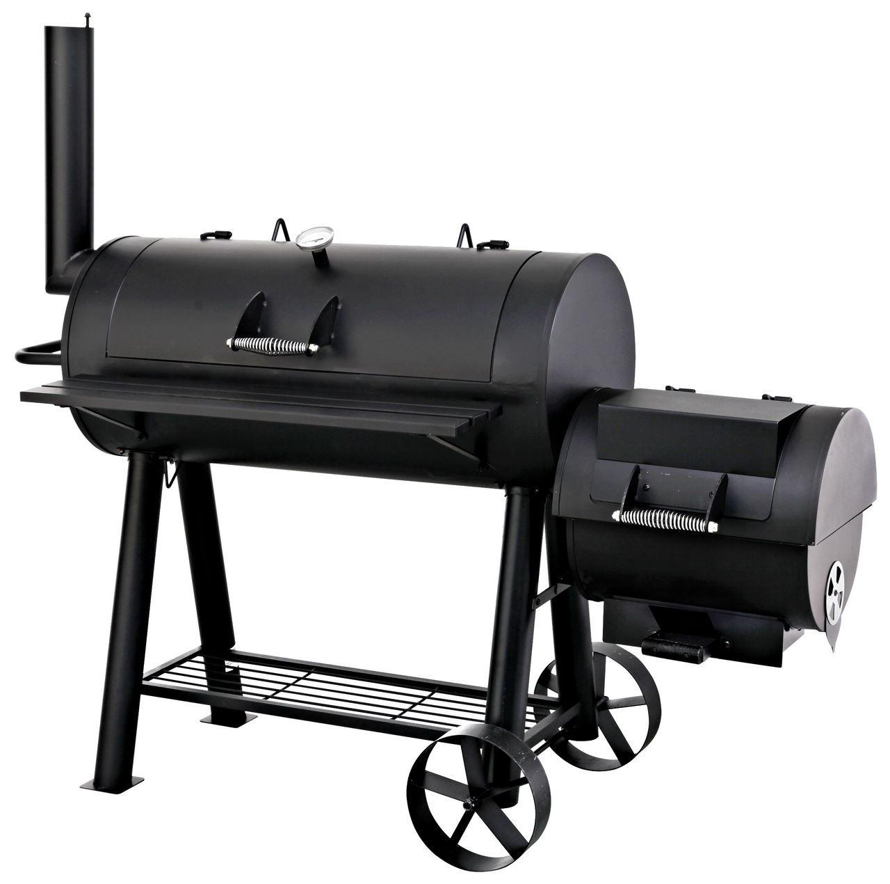 smoker milwaukee schwarz smoker grillen outdoor metro. Black Bedroom Furniture Sets. Home Design Ideas
