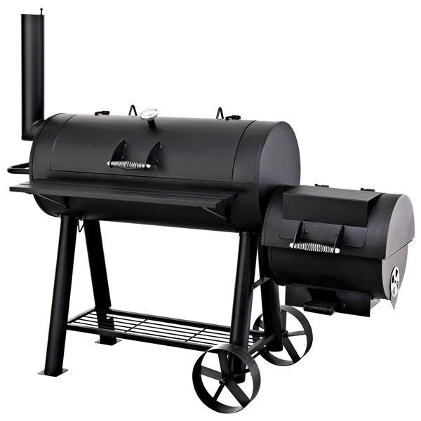 Smoker Milwaukee Schwarz