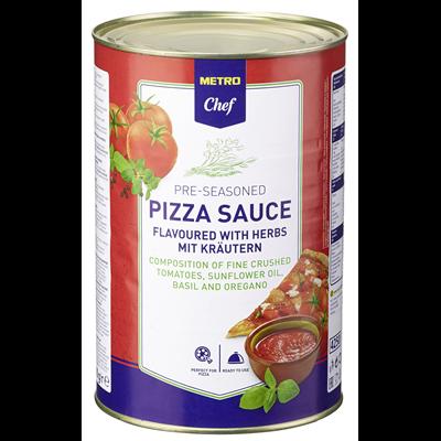 Metro Chef Pizza Sauce Mit Krautern 4 1 Kg Dose Metro