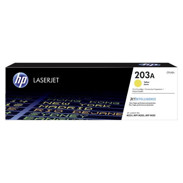 HP Toner 203A Gelb