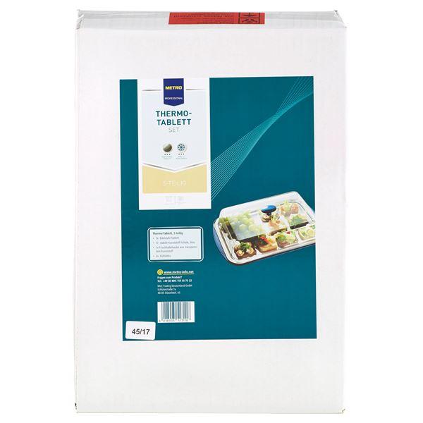 METRO Professional Thermo-Tablett-Set eckig