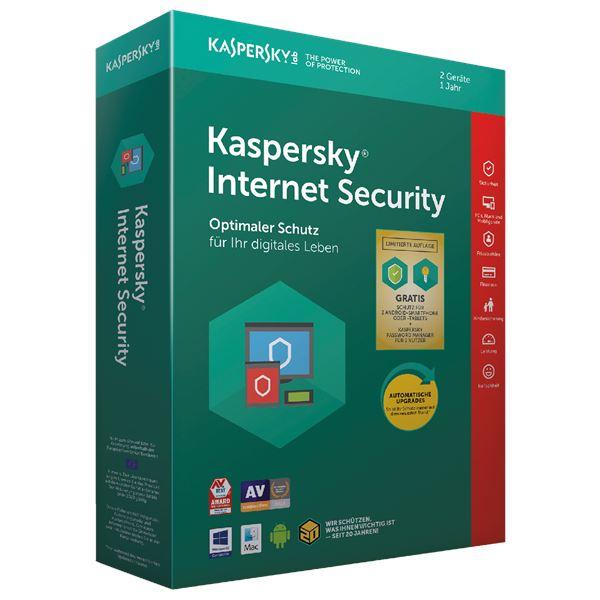 Kaspersky Internet Securitiy Limited Edition   2 Geräte