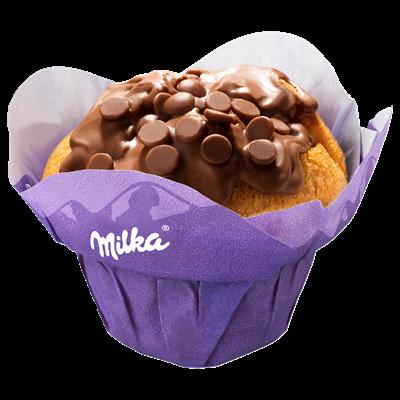 Metro De Milka Muffin Gefuellt