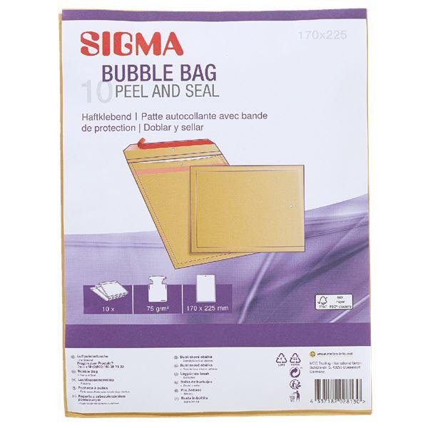 Sigma Luftpolstertaschen 172 x 225 172 mm  x  225 mm - 10 Stück