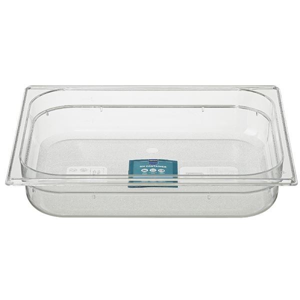 METRO Professional GN Behälter 1/2 Polycarbonat (PC) 65 mm