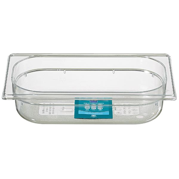 METRO Professional GN Behälter 1/4 Polycarbonat (PC) 65 mm