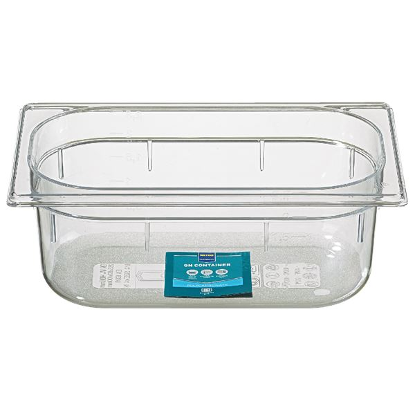 METRO Professional GN Behälter 1/4 Polycarbonat (PC) 100 mm