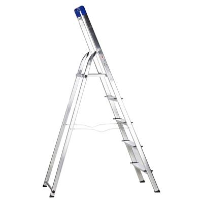 Gut bekannt Hailo L20 Sicherheits-Haushaltsleiter Aluminium 5 Stufen | METRO OL85