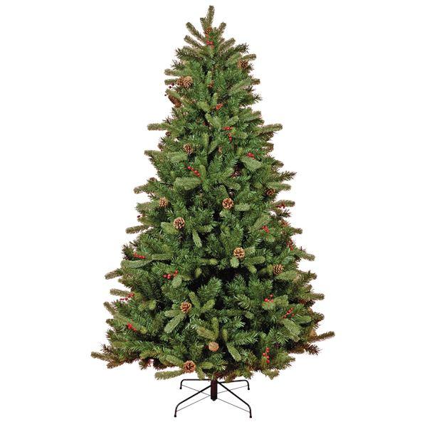 Tarrington House Weihnachtsbaum Halbform 180 cm