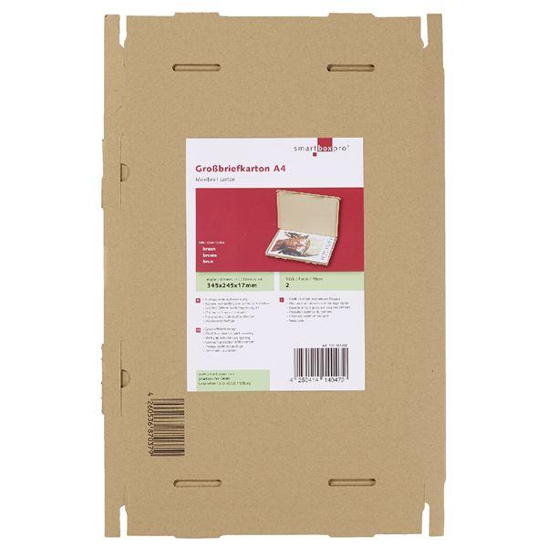 Smartbox Großbriefkarton A4 - 2 Stück