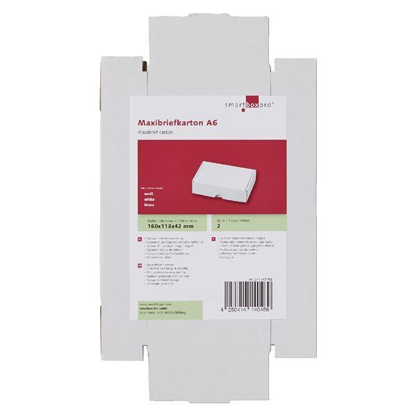 Smartbox Maxibriefkarton A6 - 2 Stück