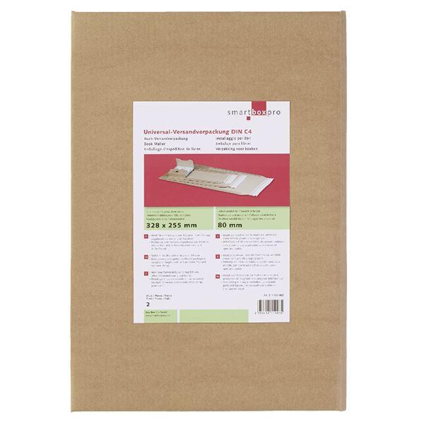 Smartbox Universalverpackung DIN C4 - 2 Stück