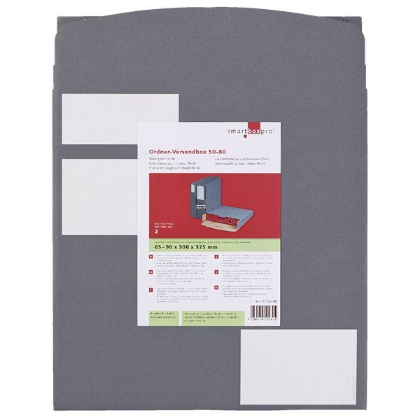 Smartbox Ordnerversandverpackung mit Steckverschluss - 2 Stück