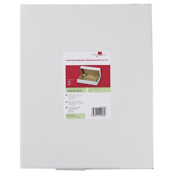 Smartbox Textilversandkarton/Stülpdeckelkarton - 2 Stück