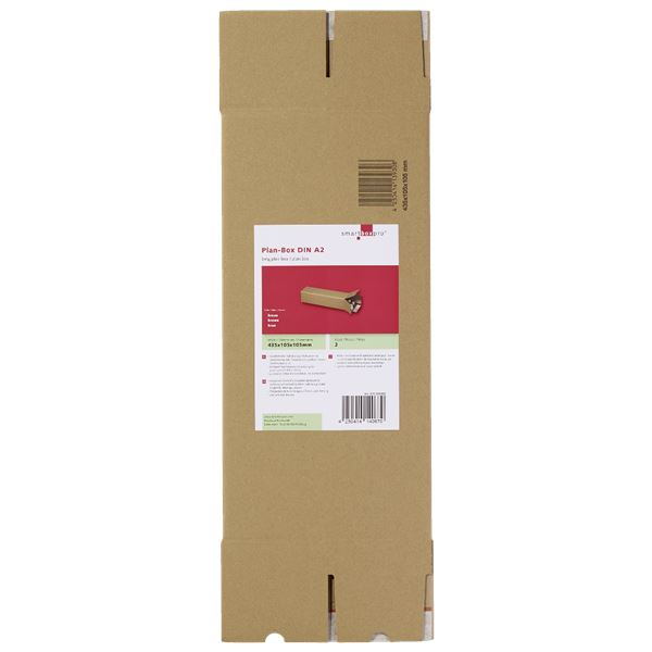 Smartbox Plan-Box A2 mit doppelter Haftklebung DIN A2