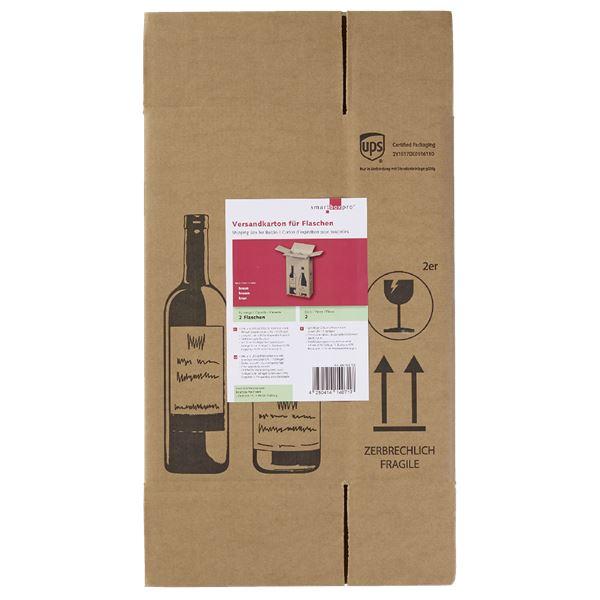 Smartbox Versandkarton für 2 Flaschen